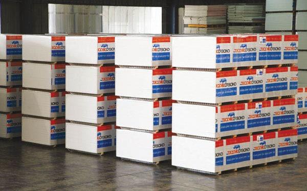 לוחות אורבונד במחסן